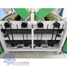 DT 1300-4 Шлифовальный станок с 4-мя лепестковыми барабанами для рельефного шлифования