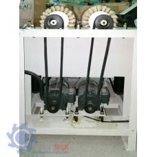 DT 630-2 Шлифовальный станок с 2-мя лепестковыми барабанами для рельефного шлифования