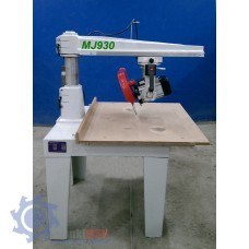 MJ2238 Торцовочный станок с верхним расположением пилы