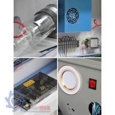 Ketai Laser 4060 Лазерный гравировальный станок с ЧПУ, 60 Вт